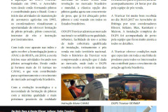 Parceria Aeroclube de Ibitinga e Travicar é Noticia em Revista Especializada!